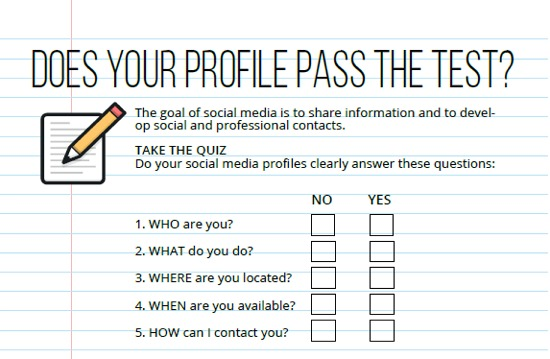 Does your social media pass the test?